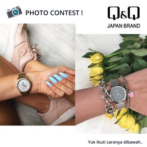 Kontes Fotografi Jam Tangan Q&Q QnQ QQ Gratis