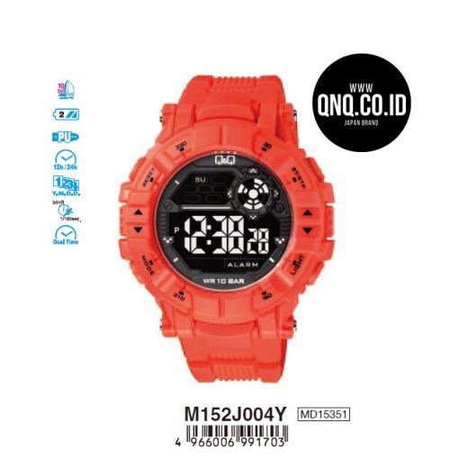 Jam Tangan digital Q&Q Original m152j004y
